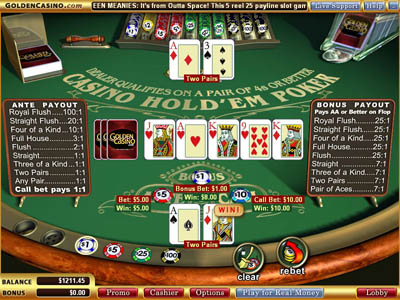 online casino games strategy