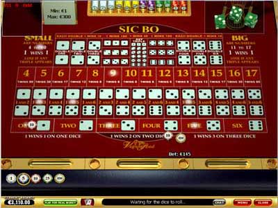 online casino deutsch sic bo