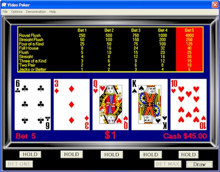 online casino video poker online slot casino